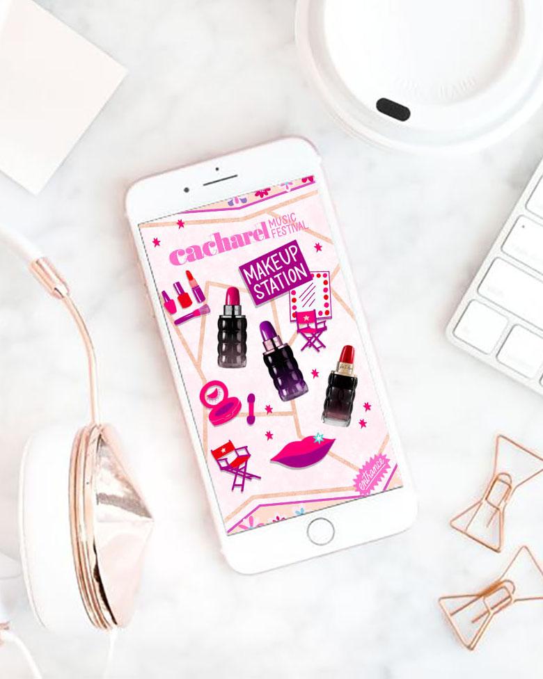 design brand content parfum illustration