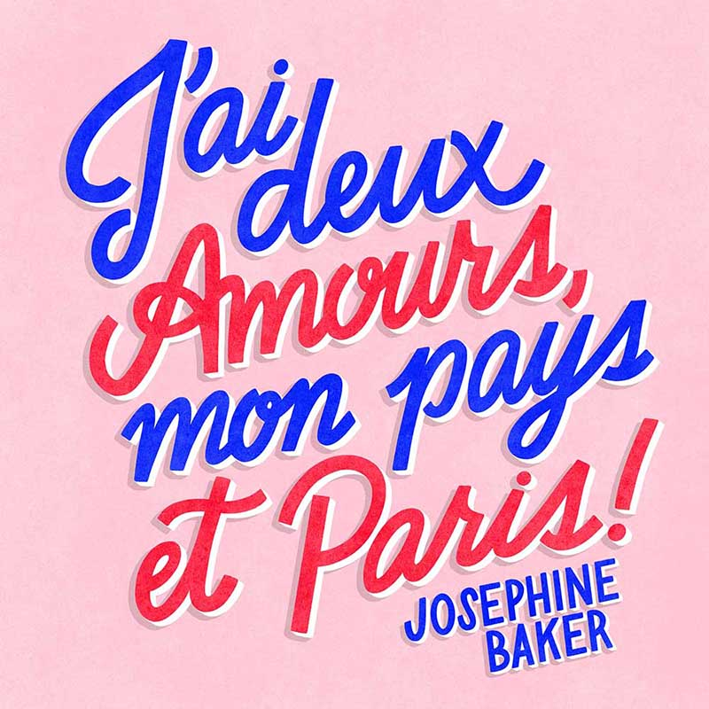 Paris Illustratrice Design Typographie